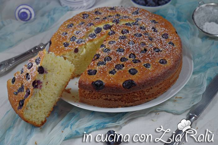 torta con olio e cocco