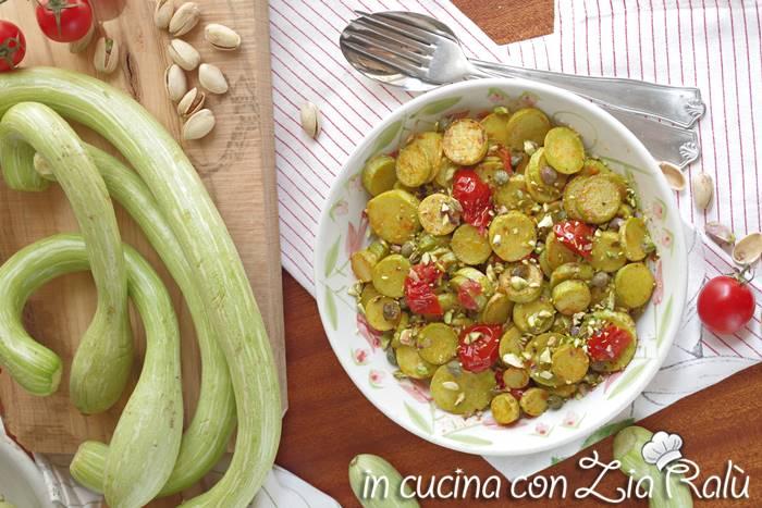 zucchine trombetta in padella