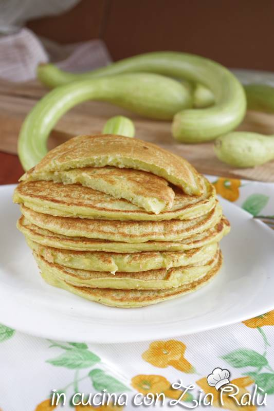 pancake alle zucchine senza lievito