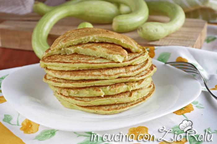 Pancake alle zucchine senza burro