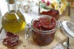 pomodori secchi sott'olio al naturale