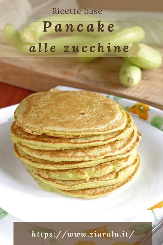 pancake alle zucchine