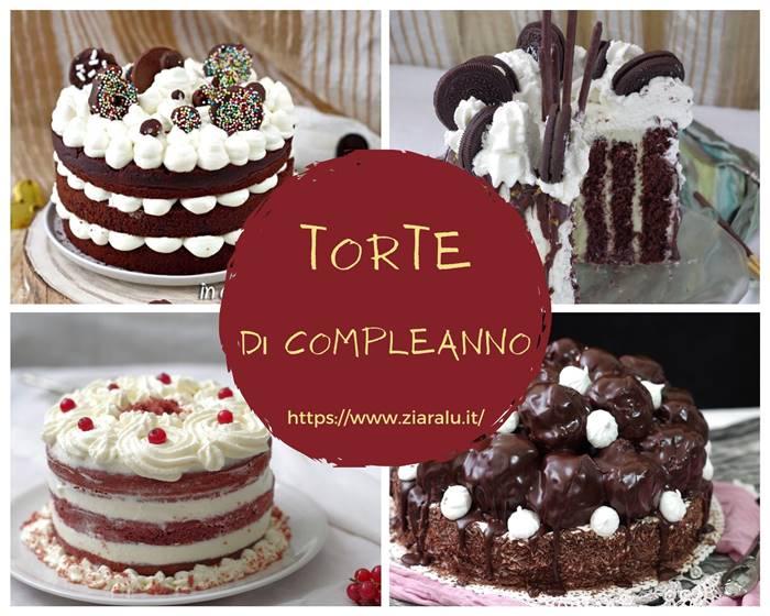 Torte di compleanno raccolta di ricette