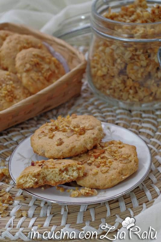 biscotti al muesli senza burro
