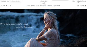 Jonna Jinton lanserar nya hemsidan