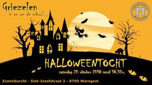 Halloweentocht @ Zonneburcht Waregem