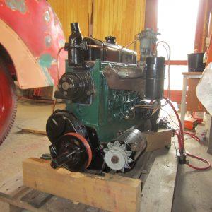 2017-03-17 Motor renoveret og malet