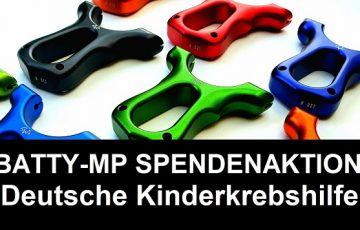 Baty MP Spendenaktion Kinderkrebshilfe