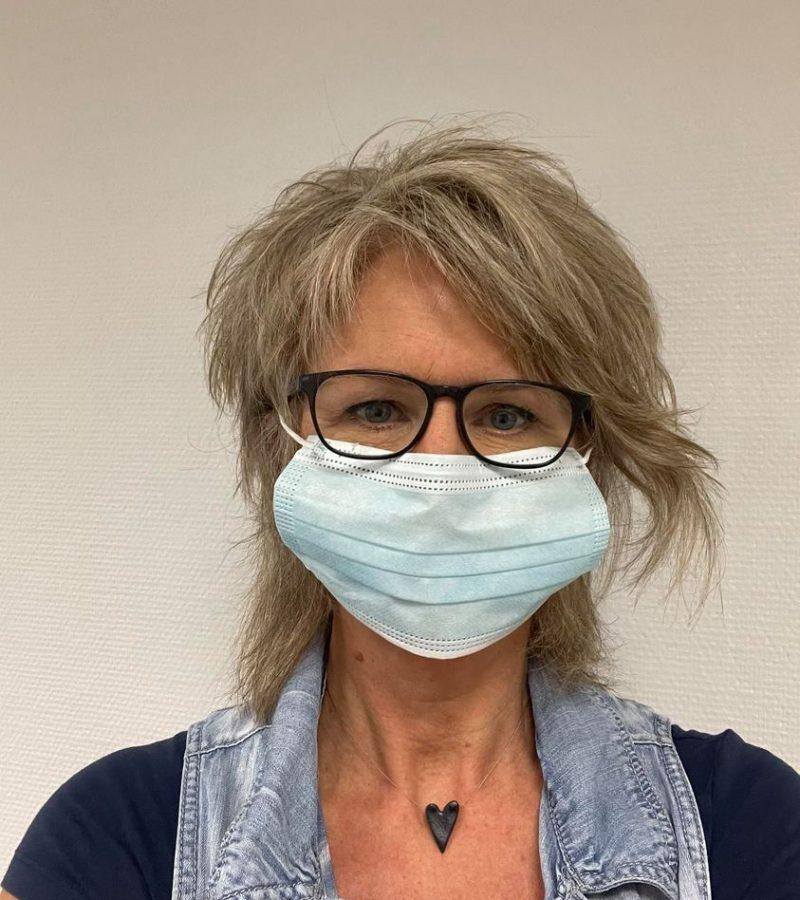 frisör i mariestad, coronavirus, munskydd
