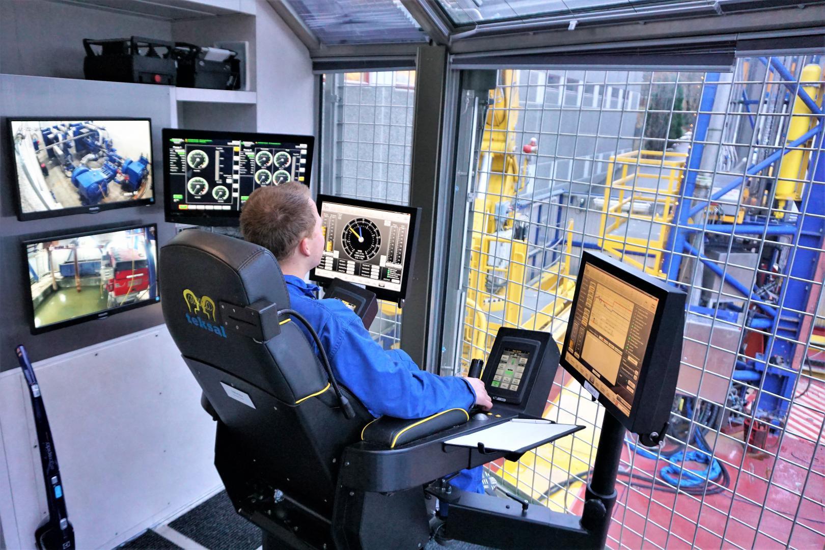 Xrig Drill Control Cabin