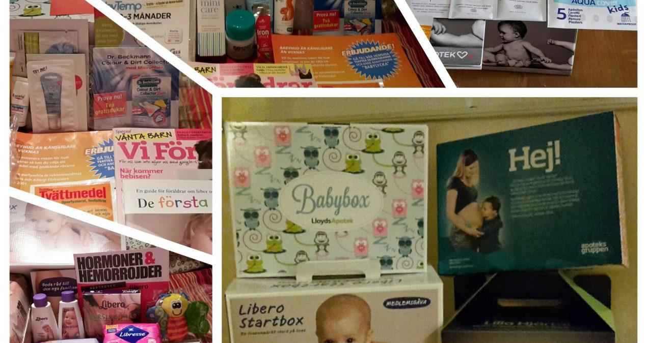 V.32-Babyboxar och startpaket