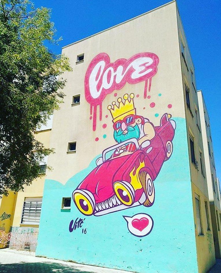 King Of Love - Public Art Gallery of Quinta do Mocho