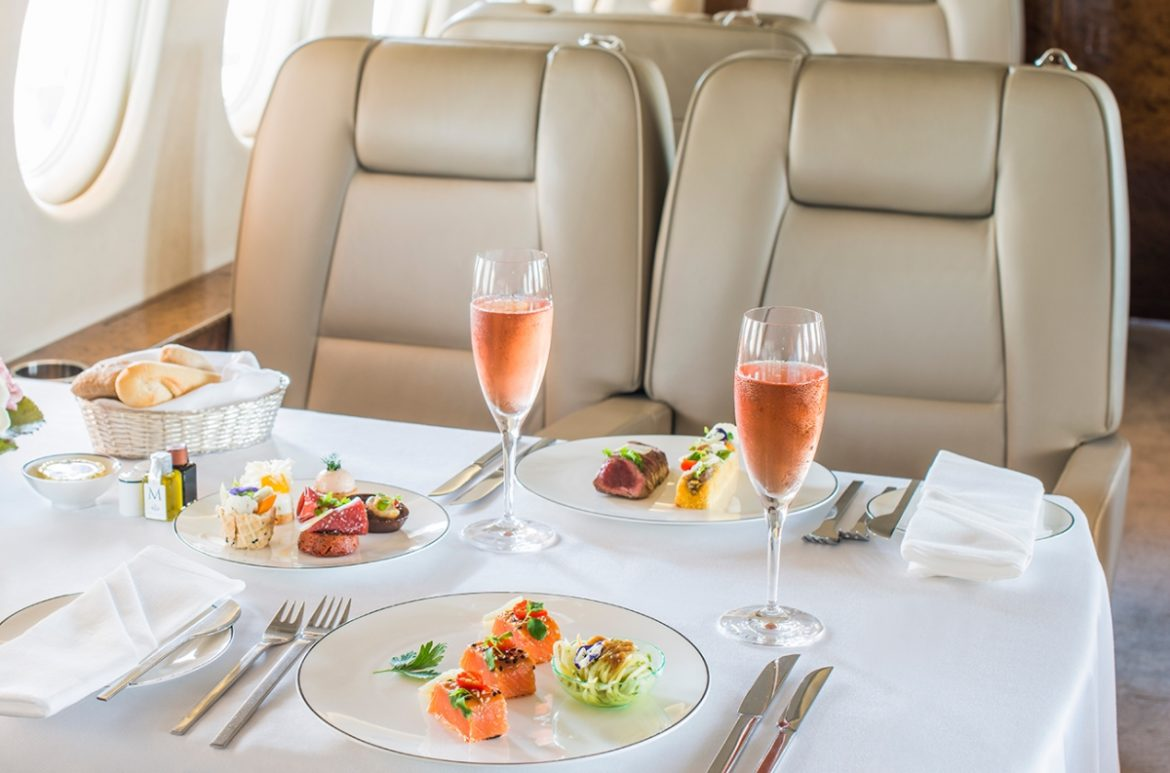 Yettis Kitchen VIP Inflight Meal Experience