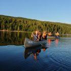 Yoga, vandring och paddling vid Långbergets Sporthotell