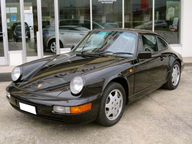911 youngtimer - Porsche 964 - Carrera 4 - 1989 - Black