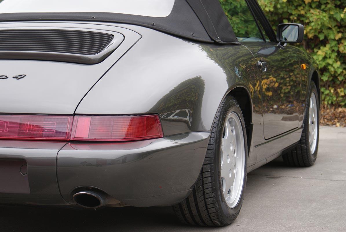 Porsche 964 - Carrera - 4 - cabrio - 1990 - Slate grey