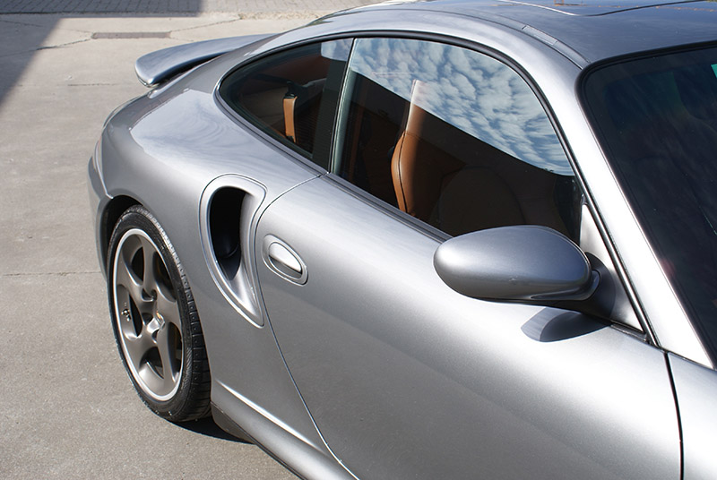Porsche 996 Turbo X50 WLS - 2003 - Seal grey
