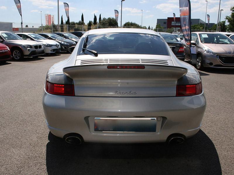 911 youngtimer - Porsche 996 - turbo - 2000 - Arctic silver