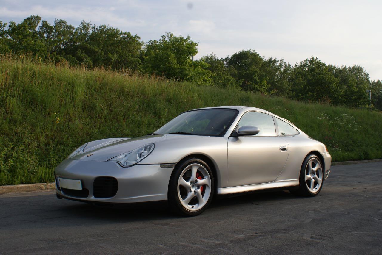 911 youngtimer Porsche 996 Carrera 4S Arctic Silver 2002 - 10 van 15
