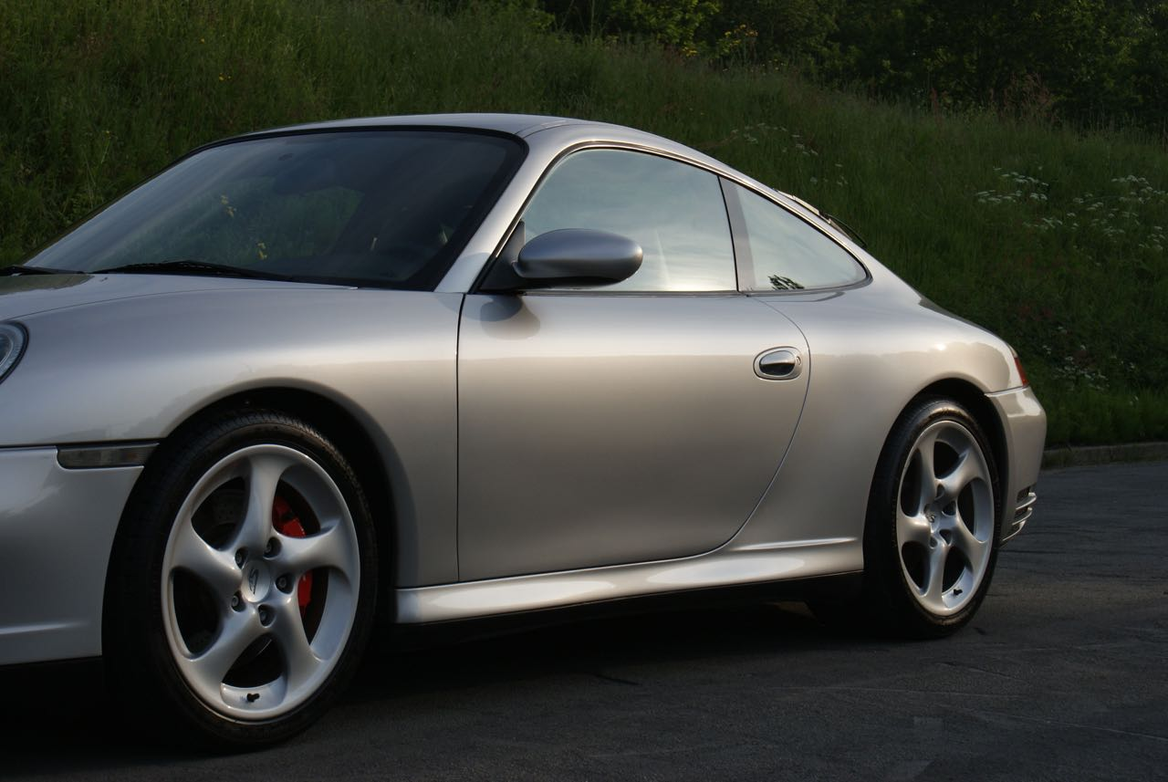 911 youngtimer Porsche 996 Carrera 4S Arctic Silver 2002 - 11 van 15
