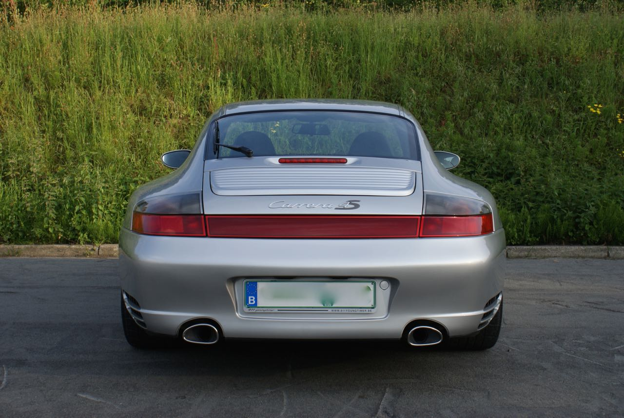 911 youngtimer Porsche 996 Carrera 4S Arctic Silver 2002 - 5 van 15