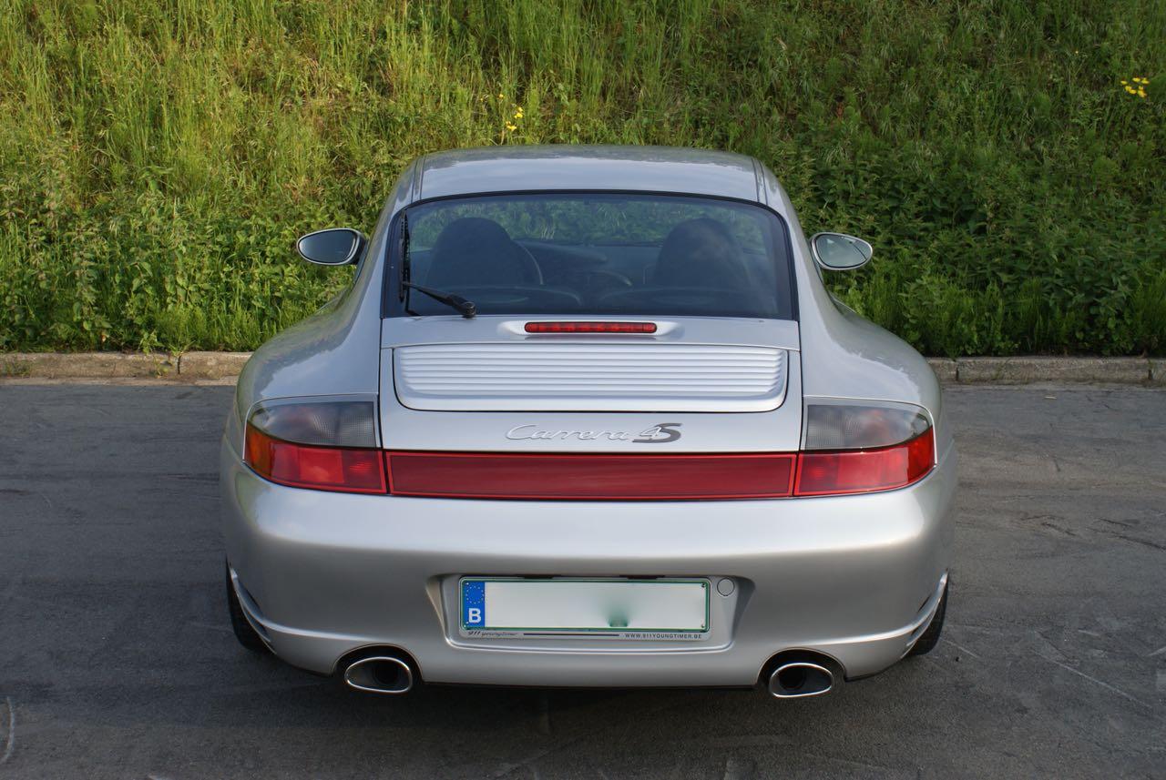 911 youngtimer Porsche 996 Carrera 4S Arctic Silver 2002 - 6 van 15
