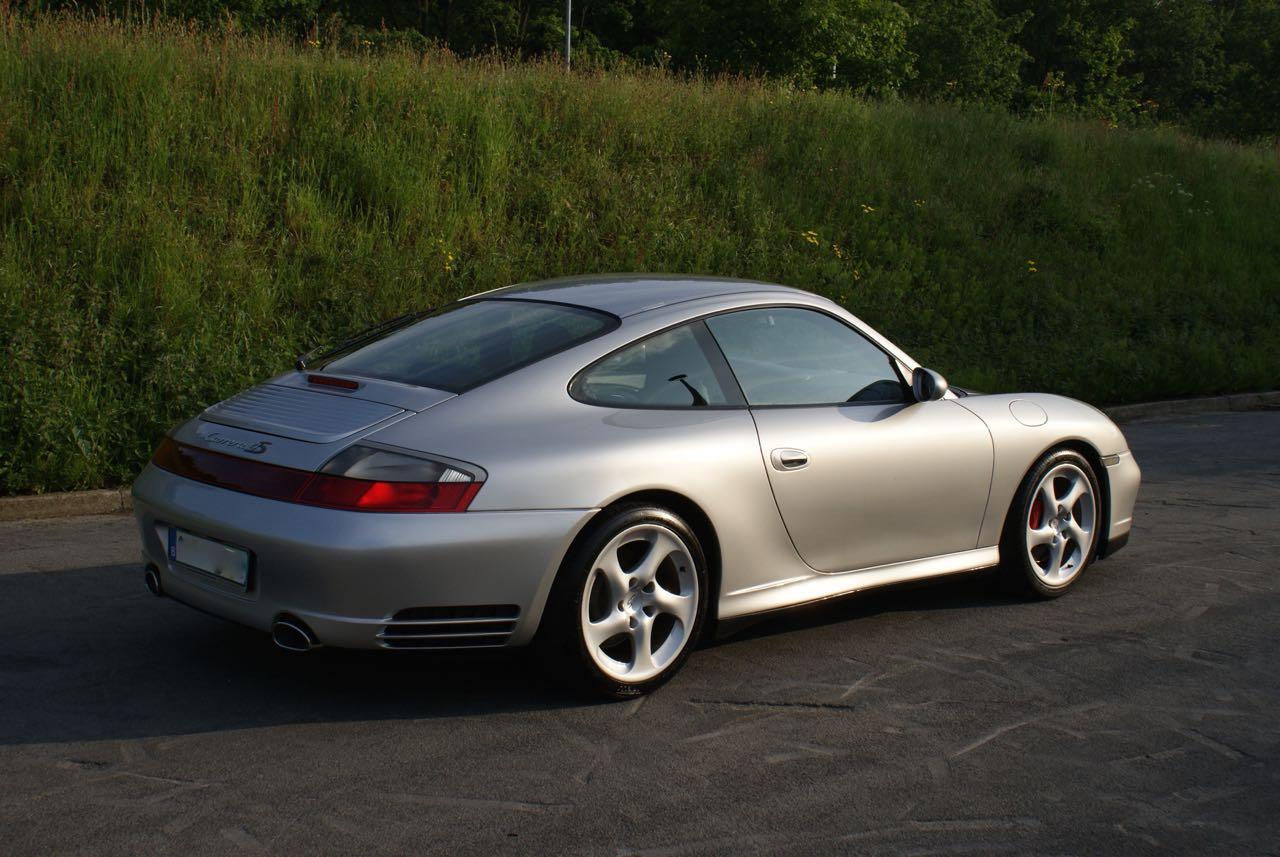 911 youngtimer Porsche 996 Carrera 4S Arctic Silver 2002 - 8 van 15
