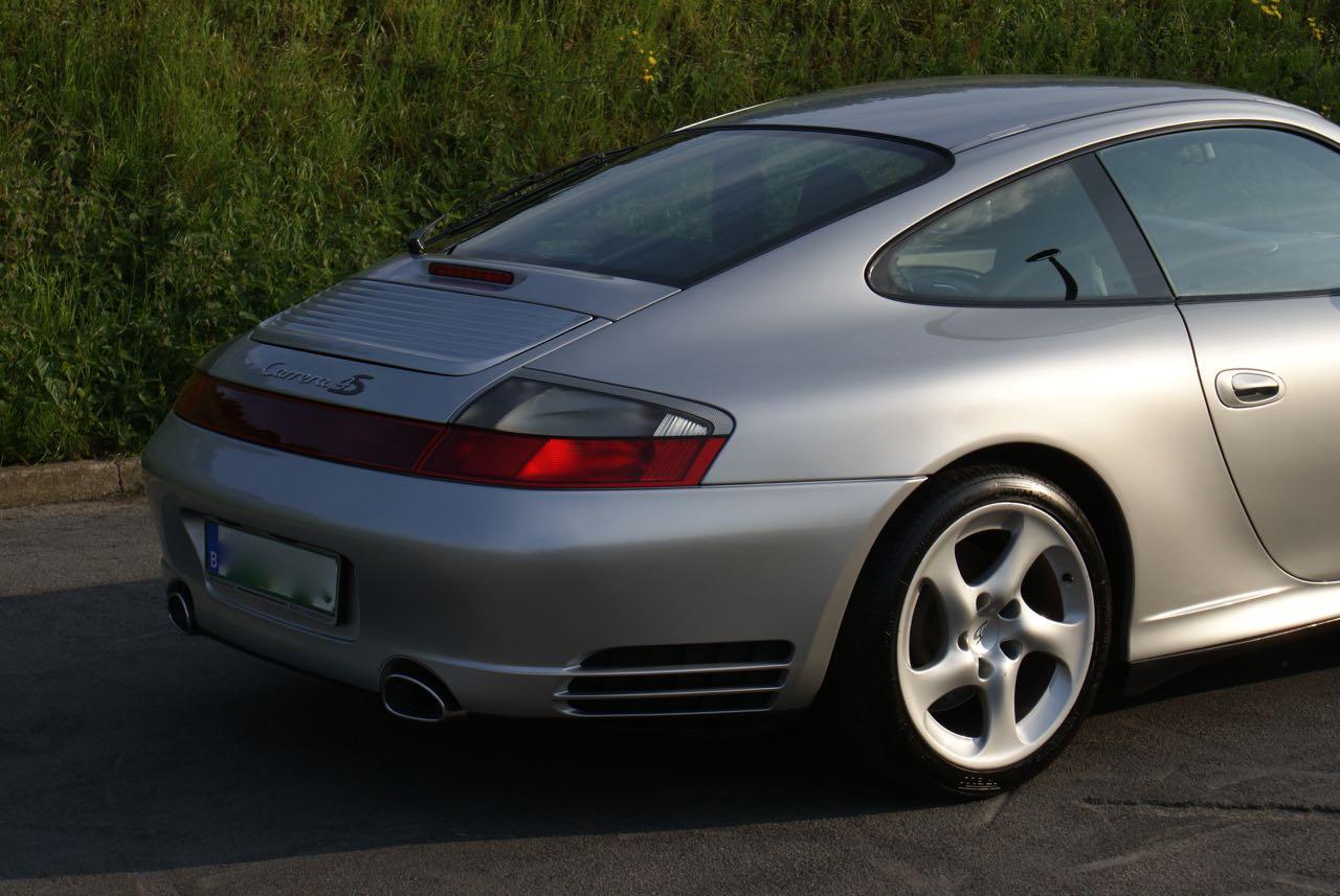 911 youngtimer Porsche 996 Carrera 4S Arctic Silver 2002 - 9 van 15