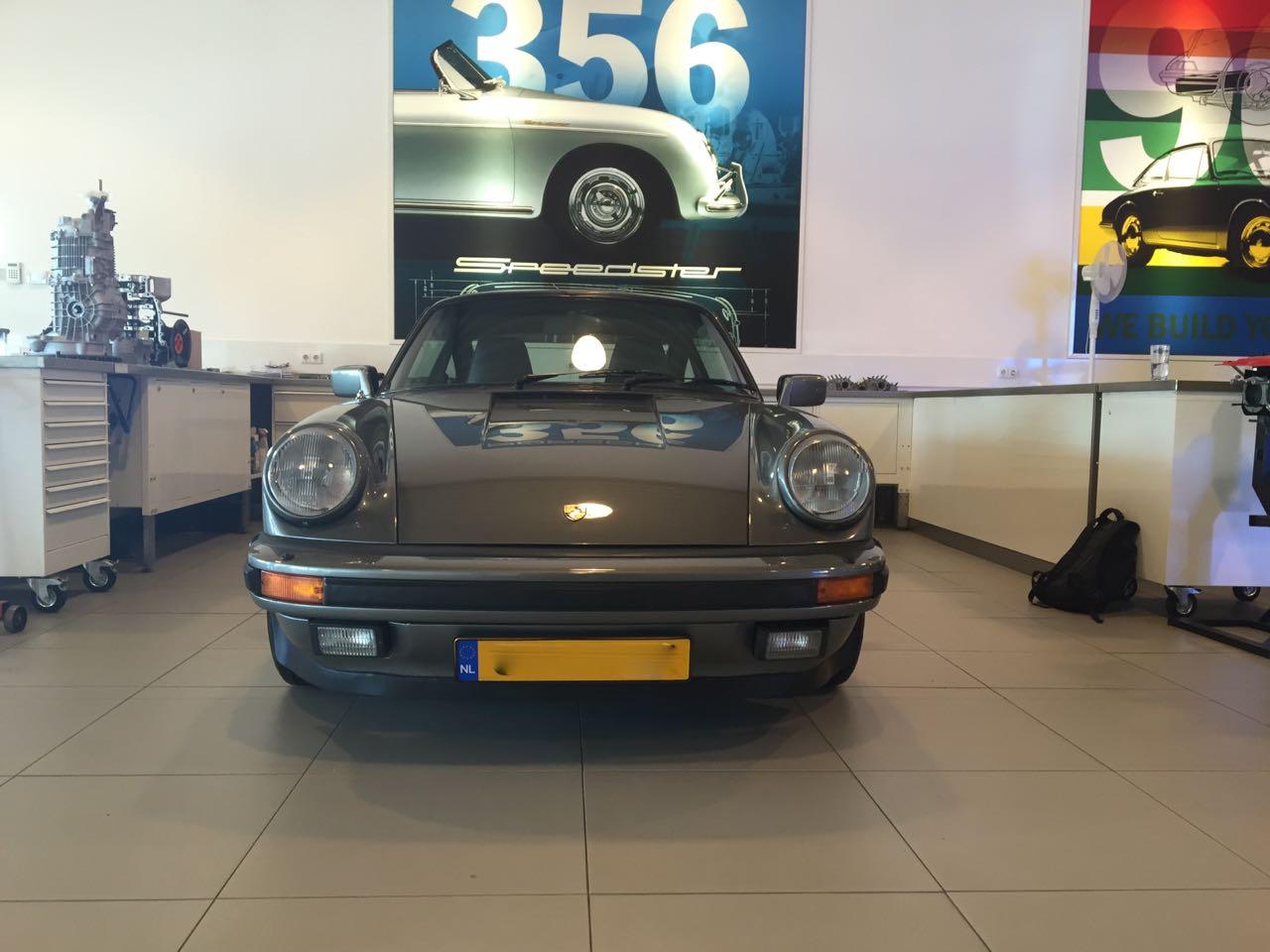 911 youngtimer - Porsche 911 Carrera G50 - 1987 - Felsengruen 2