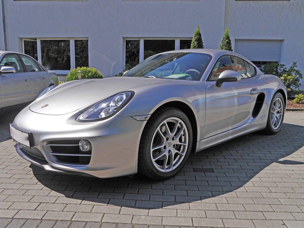 911 youngtimer - Porsche 981 Cayman 2,7 PDK - 2013 - Platinum Silver 1