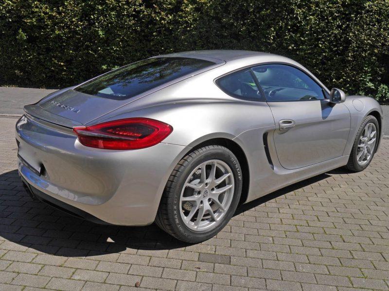 911 youngtimer - Porsche 981 Cayman 2,7 PDK - 2013 - Platinum Silver 2