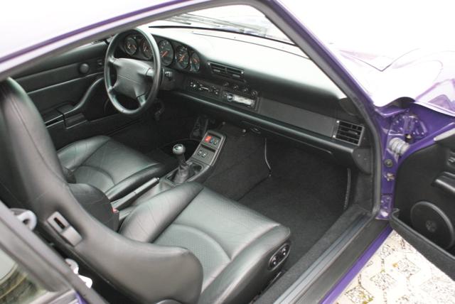 911 youngtimer - Porsche 993 Carrera - Amarant Violet - 1994 - 14 of 15