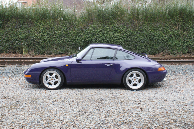 911 youngtimer - Porsche 993 Carrera - Amarant Violet - 1994 - 7 of 15