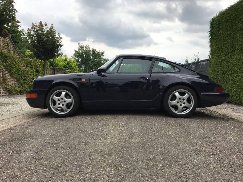 911 youngtimer - Porsche 964 Carrera 4 - Dark Blue - 1990 - 1 of 3