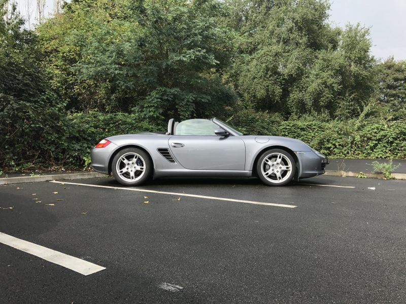 911 youngtimer - Porsche 987 Boxster 2,7L - Seal Grey Metallic - 2006 - 1 of 2