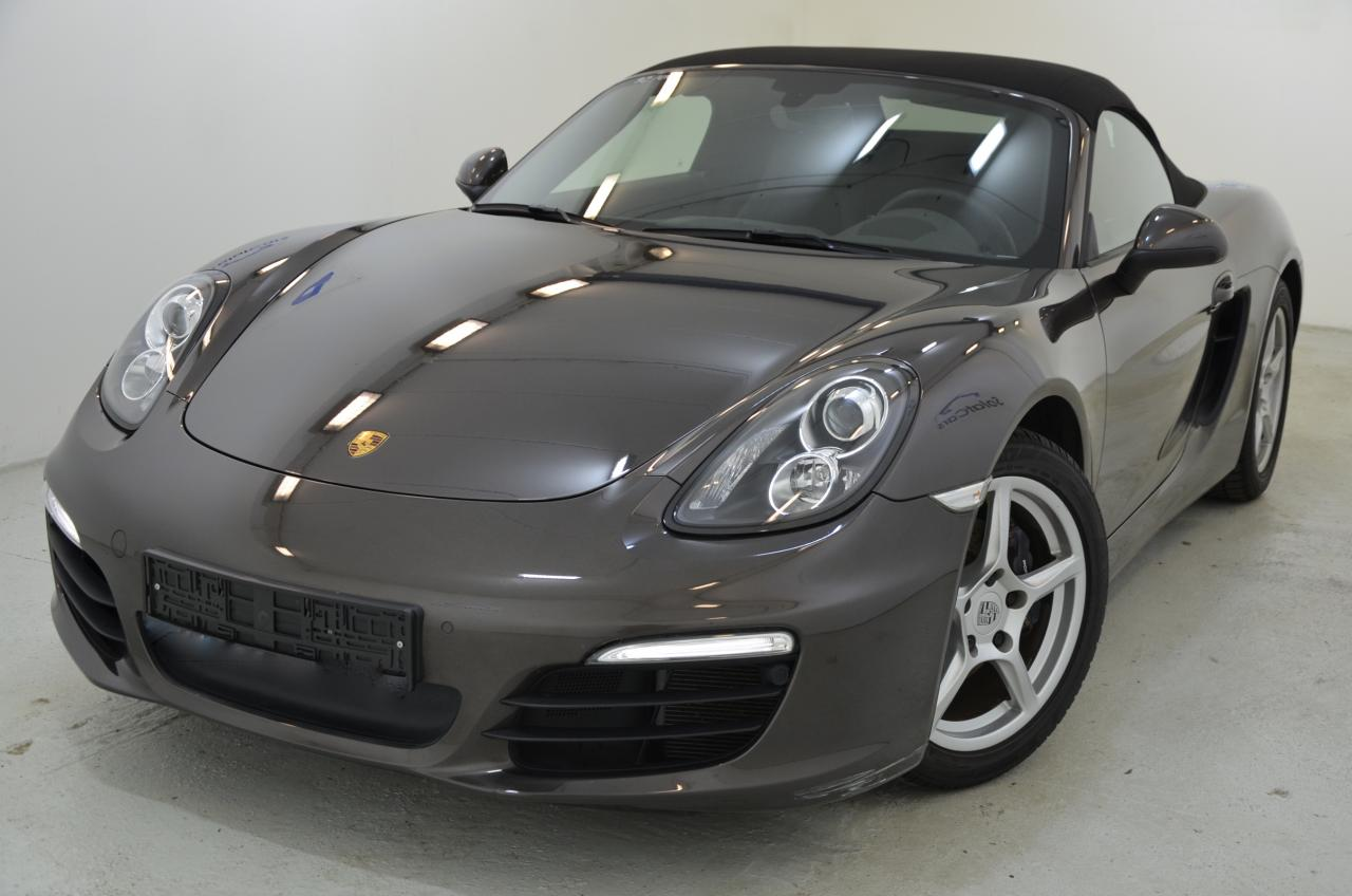 911 youngtimer - Porsche 981 Boxster - 2015 - Anthrazit Braun - 1 of 3