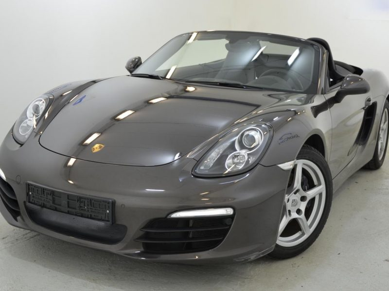 911 youngtimer - Porsche 981 Boxster - 2015 - Anthrazit Braun - 2 of 3