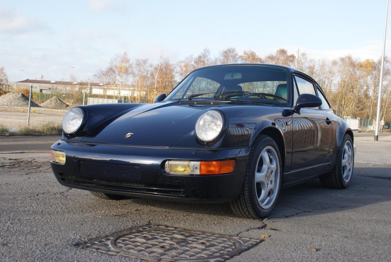 911 youngtimer - Porsche 964 Carrera 2 - Midnight Blue - 1991 - 11 of 15