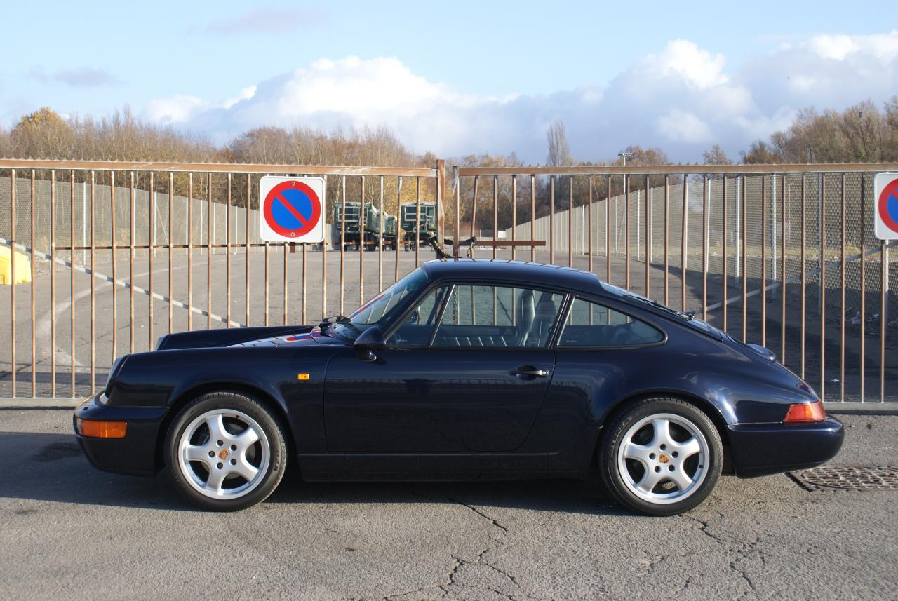911 youngtimer - Porsche 964 Carrera 2 - Midnight Blue - 1991 - 2 of 15