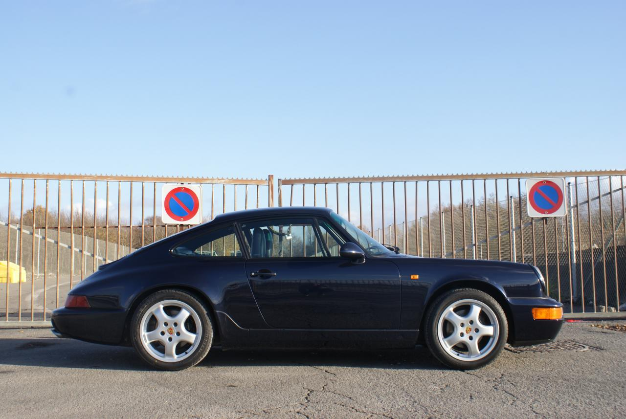 911 youngtimer - Porsche 964 Carrera 2 - Midnight Blue - 1991 - 8 of 15