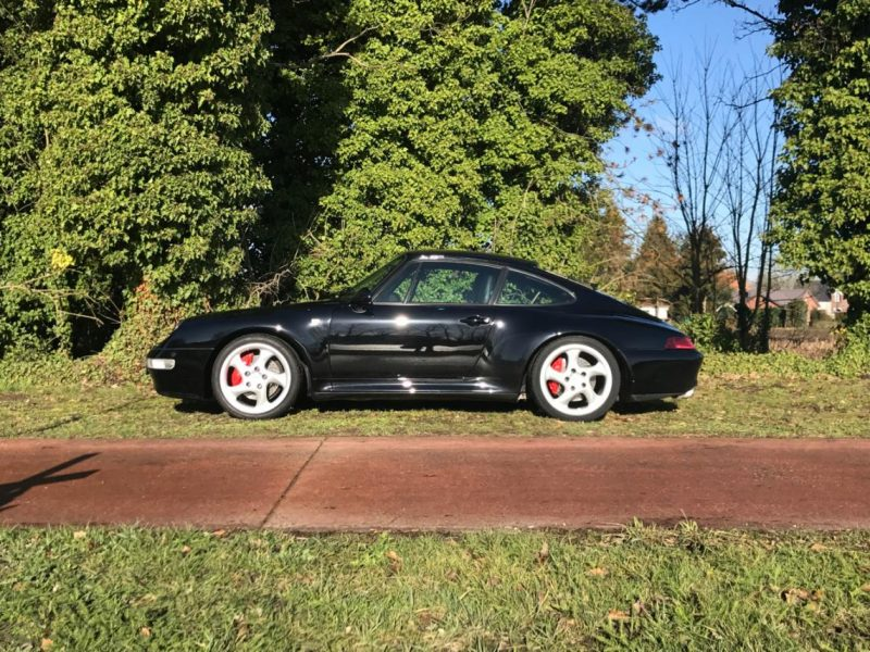 911 youngtimer - Porsche 993 Carrera 4S - Black - 1996 - 1 of 2