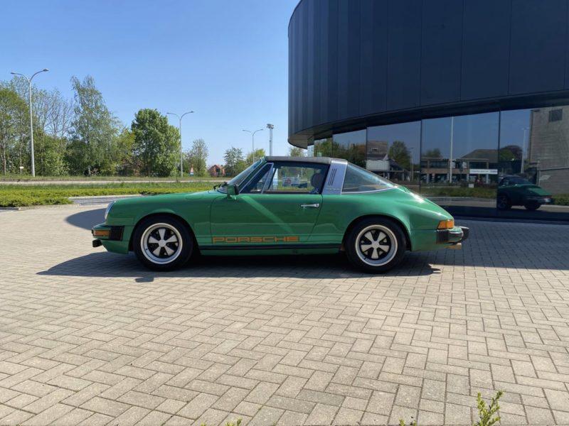 youngtimer.one - Porsche 911 SC targa - Fern Green - 1978