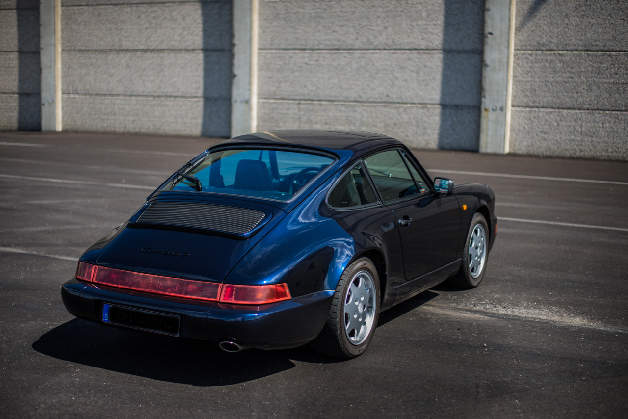 youngtimer.one - Porsche 964 Carrera 2 - Midnight Blue - 1991 - 10 of 16