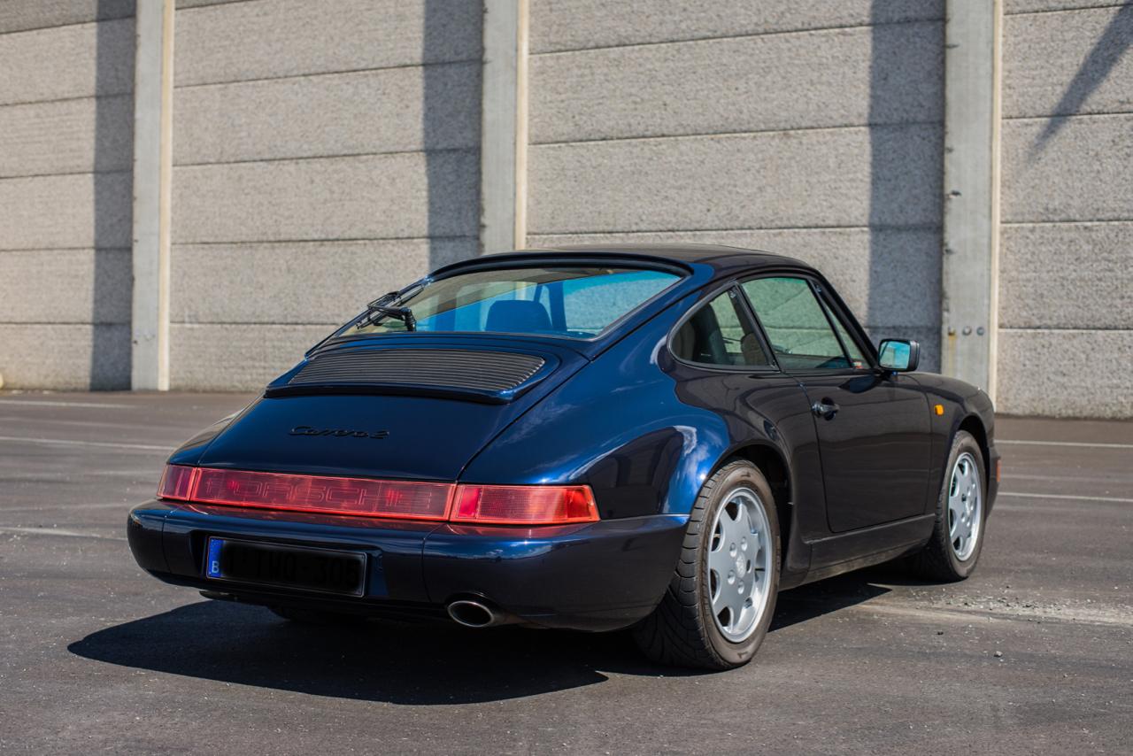 youngtimer.one - Porsche 964 Carrera 2 - Midnight Blue - 1991 - 11 of 16