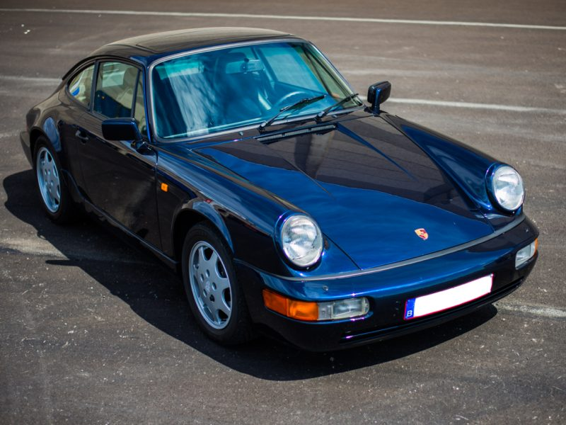 youngtimer.one - Porsche 964 Carrera 2 - Midnight Blue - 1991 - 4 of 16