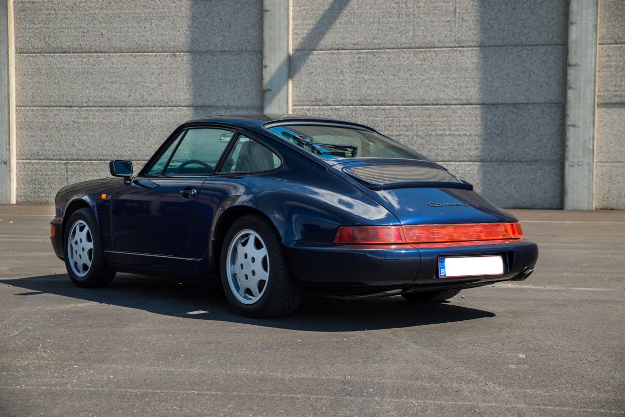 youngtimer.one - Porsche 964 Carrera 2 - Midnight Blue - 1991 - 6 of 16