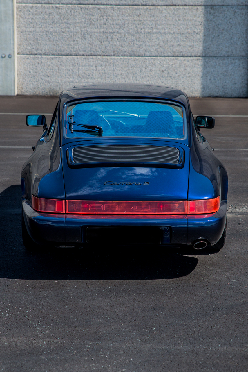 youngtimer.one - Porsche 964 Carrera 2 - Midnight Blue - 1991 - 7 of 16