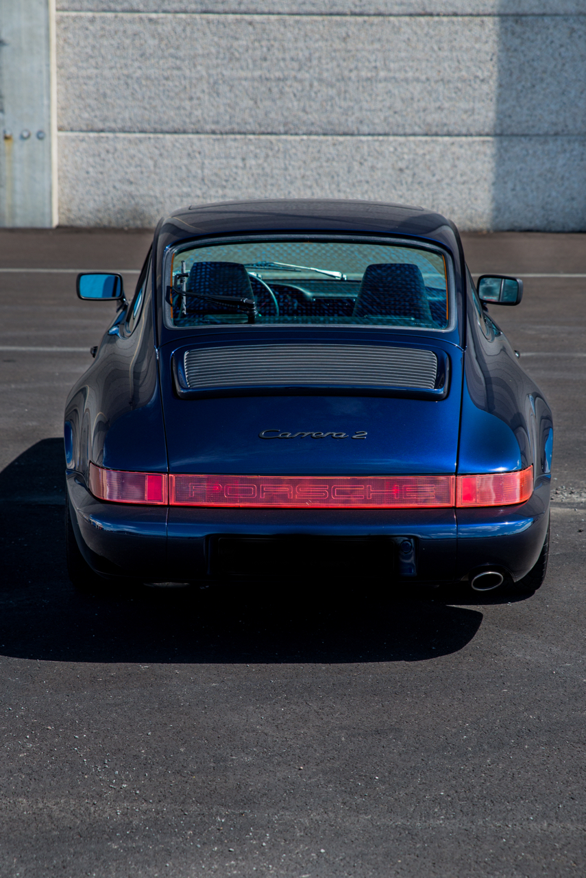 youngtimer.one - Porsche 964 Carrera 2 - Midnight Blue - 1991 - 8 of 16