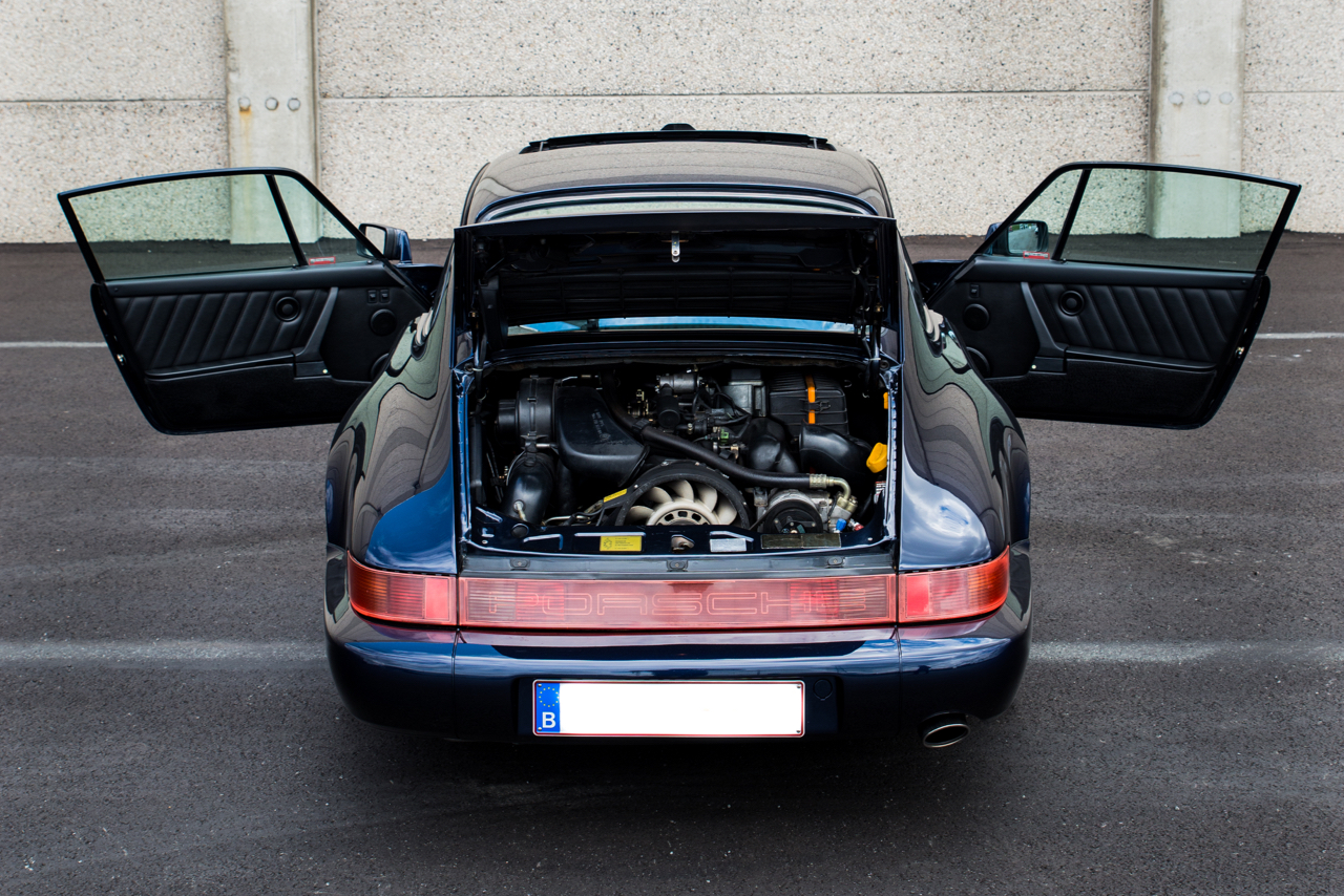 youngtimer.one - Porsche 964 Carrera 2 - Midnight Blue - 1991 - 9 of 16