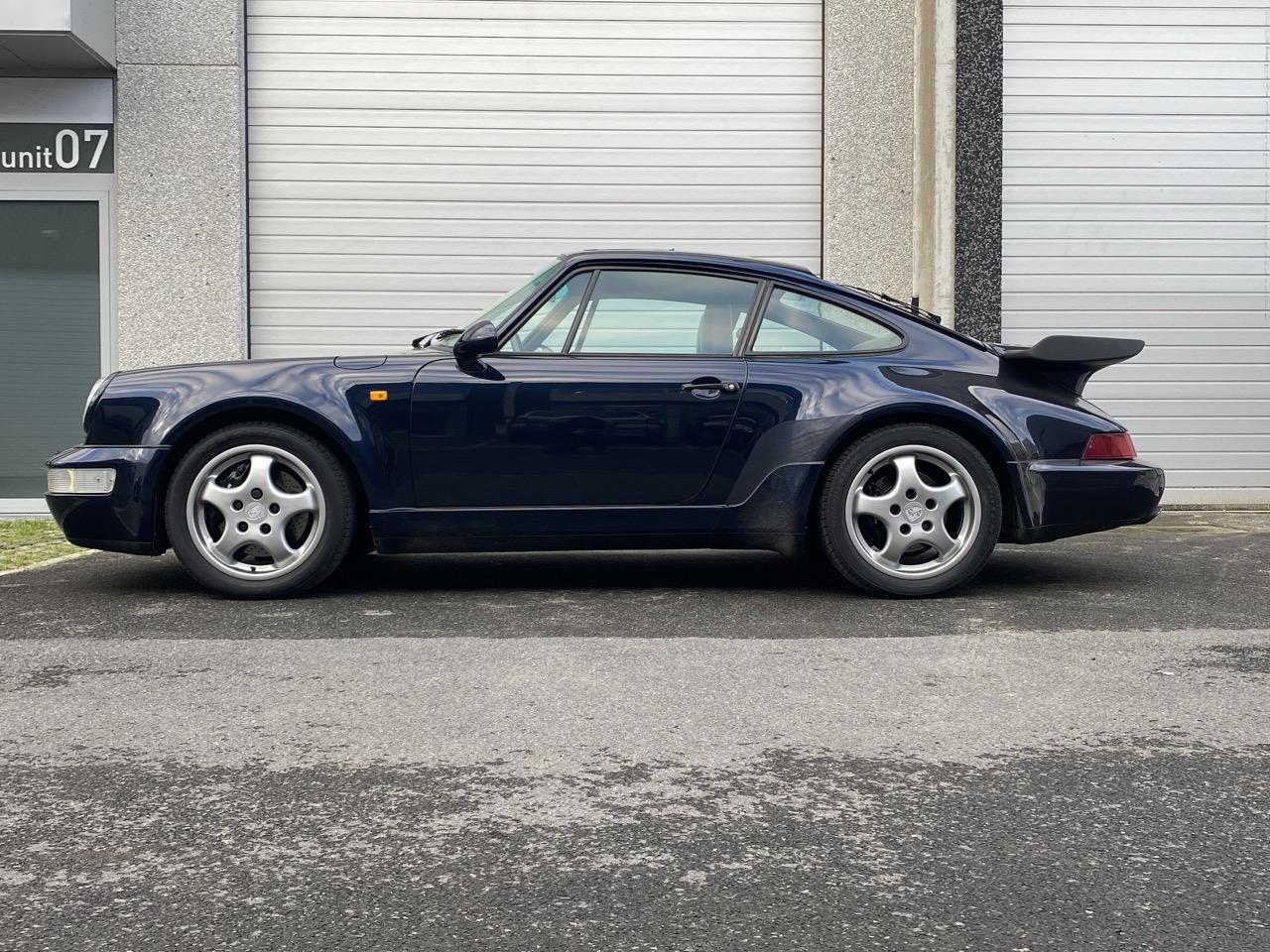 youngtimer.one - Porsche 964 turbo - Nachtblau - 1991 - 2 of 3